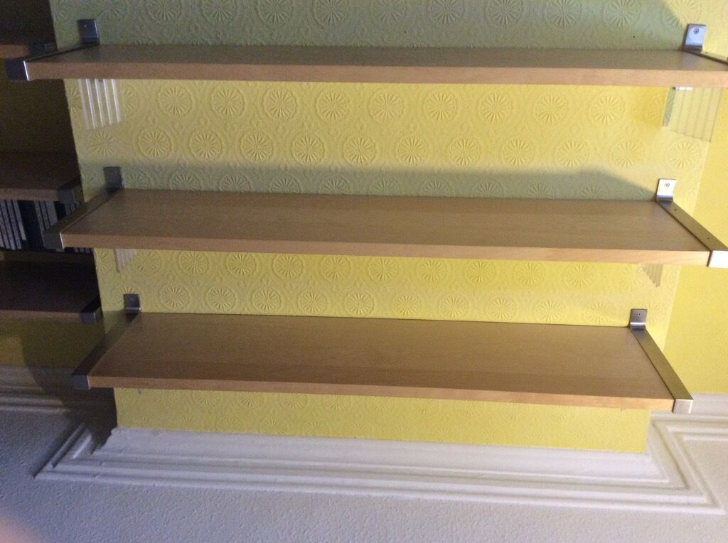 Ikea floating shelves buy sale and trade ads great prices for Ikea bookends uk