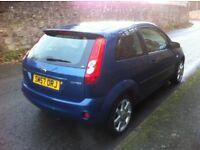 2008, Ford Fiesta Zetec Blue 1.25