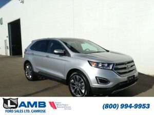 2016 Ford Edge Titanium AWD including Canadian Touring Package,