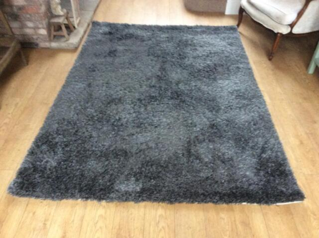 John Lewis Stunning New Dark Grey Rug 160 X 230 In Billinge Manchester Gumtree