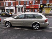 57/REG JAGUAR 2.5 X TYPE 4 WHEEL DRIVE AUTO FSH £1995 ONO