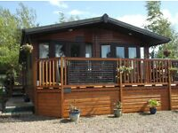 A delightful 3 bed Timber Lodge for sale in Northumberland
