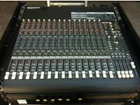 mixing desk mackie 16 channel CR1604-VLZ pa