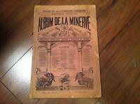 Album de la Minerve Vol.1 no.2 collection livre 1872