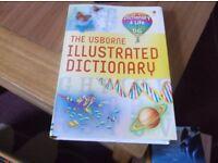 The Usborne Illustrated Dictionary.