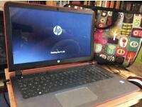 Hewlett-Packard Pavilion Notebook -red,Windows 10