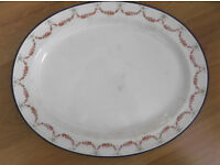 Booths serving platter, first half 20th century