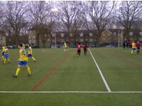 Thursdays 6pm. Football kickabout between friends close to Homerton and Hackney Wick.