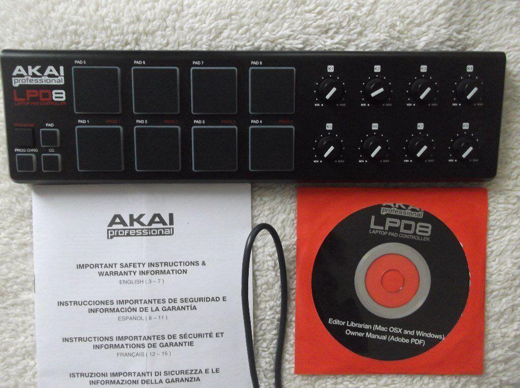 Akai MPD26 usb / midi pad contoller