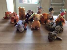Chinese Zodiac Beanie Animals