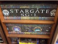 Whole series of Stargate Sg1, plus Stargate Atlantis series on DVD.