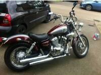 Lifan 250cc cruiser motorcycle
