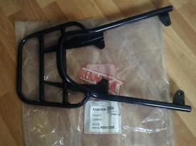 Kawasaki Versys motorcycle rack with grab rail