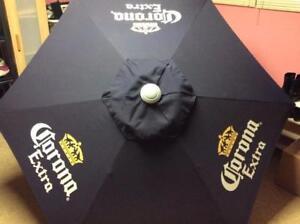 Corona Extra Light 7 Foot Patio Umbrella Blue New / Patio umbrella for sale commercial grade