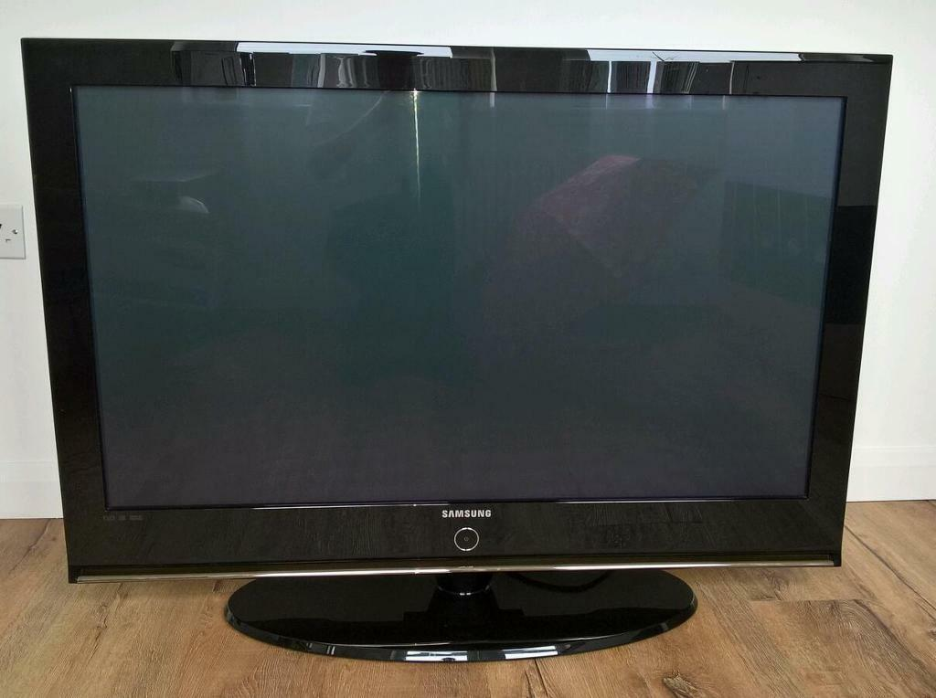samsung 42 inch plasma tv in dunfermline fife gumtree. Black Bedroom Furniture Sets. Home Design Ideas