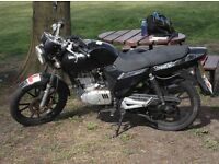 SPARE OR REPAIR!! FOR SALE 2011 LEXMOTTO STREET 125cc Geared!