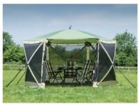 Quest instant spring up screen house 6, gazebo, summer house.REDUCED