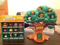 Moshi Monster Moshling Zoo and Moshling tree house