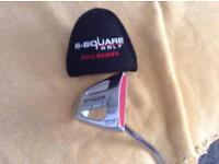 B-square golf pro series putter .in good condition.