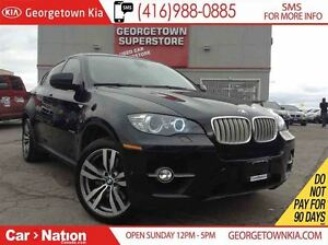 2011 BMW X6 XDRIVE 50i - M SERIES RIMS | NEW TIRES | BACK UP C