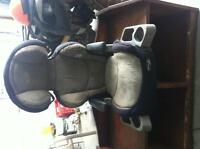 Booster seat with lights