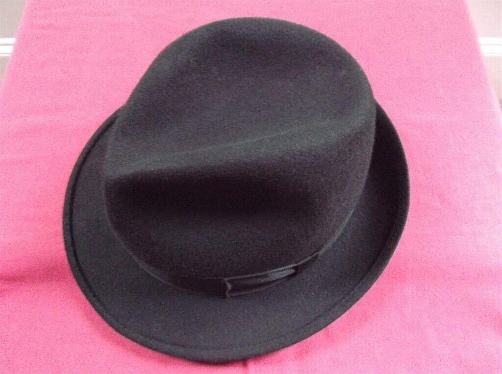 Quality Black Classic Trilby ~ Christys  London 88395036937