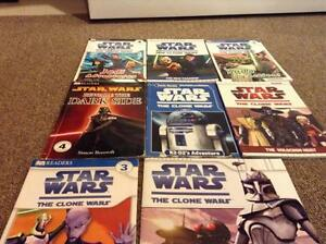 Assorted Star Wars books