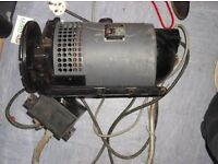 Alternating current SINGER electrical transmitter motor