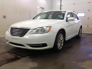2012 Chrysler 200 Touring with Navigation and Extended Warranty Edmonton Edmonton Area image 2