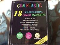 Professional liquid chalk markers box of 18 £12
