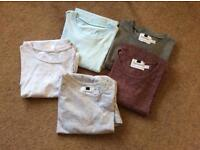 top man small and x small T SHIRTS