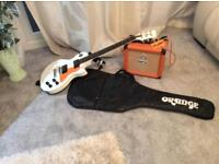 Orange guitar