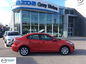 2013 Mazda MAZDA3 GX, 5 Speed, Air, Low kms!, One Owner!
