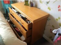 Rossmore Furniture Three Drawer Storage Cabinet