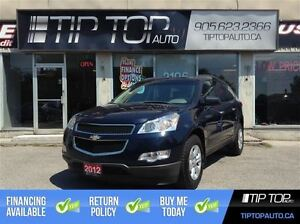 2012 Chevrolet Traverse LS ** AWD, 8 Passenger, Low KMs **