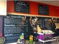 EXPERIENCED BARISTA/WAITING STAFF - 3 DAYS A WEEK FOR FAMILY RUN INDEPENDENT CAFE