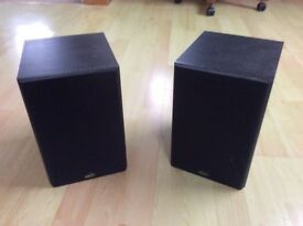 REAL HI-FI GALE GOLD MONITOR MK2 BI-WIRE ABLE BOOK SHELF SPEAKERS & SPEAKER CABLE