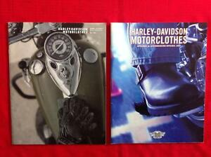 1999 and 2000 Harley Davidson catalogues