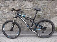 Mountain Bike with Fox suspension