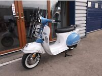 * Brand New 2017 * AJS Modena Learner 125 Scooter. Warranty. Free Delivery. Part-ex: 21-03