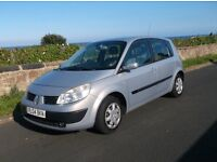 2004 Renault Scenic 1.5 DCi DIESEL, Mot March 17. £495. P/X Welcome