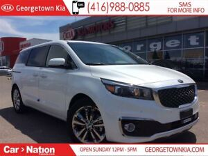 2018 Kia Sedona SXL+ | $287 BI-WEEKLY | EVERY OPTION |