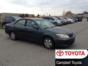 2002 Toyota Camry LE V6 MOON ROOF PWR CLOTH INTERIOR
