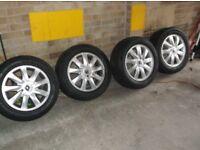 Renault Scenic/Megane/Laguna/Trafic/Espace 16 inch wheels and tyres