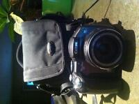 Canon power shot S3 with lowepro case