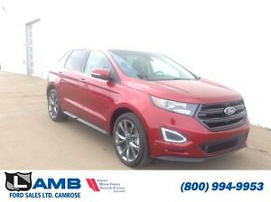 2016 Ford Edge Sport AWD 401A 2.7L Ecoboost Moonroof Navigation