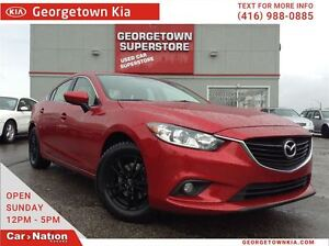 2014 Mazda MAZDA6 GS NAVI| LEATHER| ROOF| BACK UP CAM|BALL WHEEL