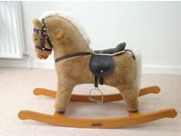 Rocking Horse (Mamas and Papas) comes with rug and nose bag