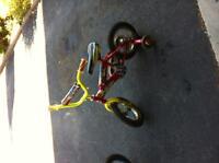12 inches hotwheels boys bike