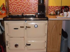 RAYBURN 355 SFW CENTRAL HEATING RANGE COOKER